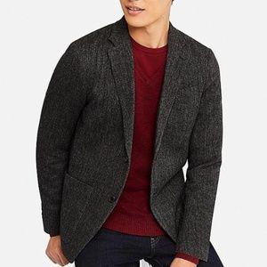 UNIQLO Men's Wool Dark Brown Jacket/M